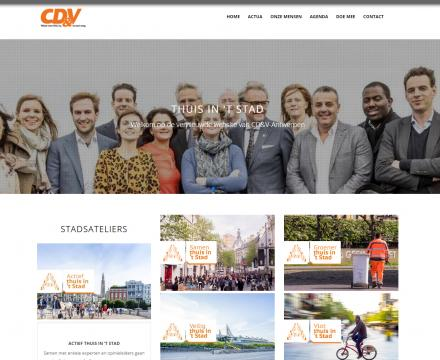 Thuis in 't stad - Drupal Freelance Webdesign